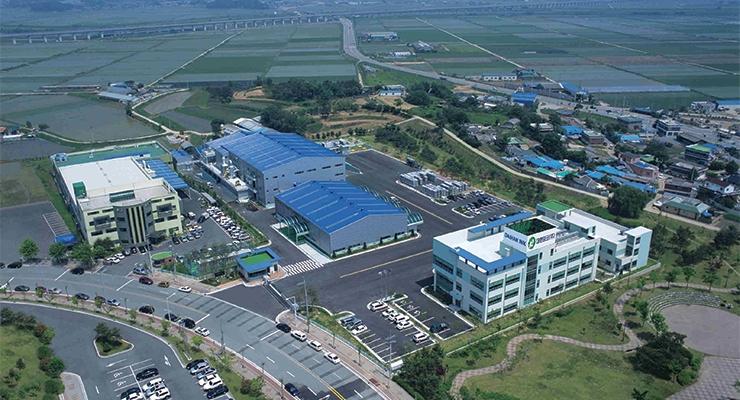 Daihan Ink's factory in Pyeongtaek, South Korea.