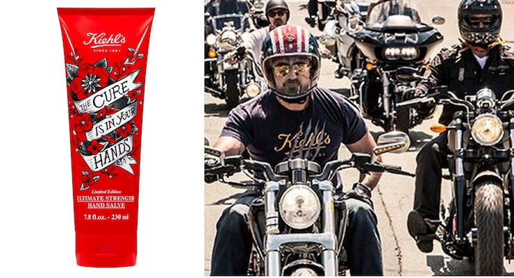 Kiehl's Limited Edition Hand Salve, Decorated for the 8th Annual LifeRide for amfAR