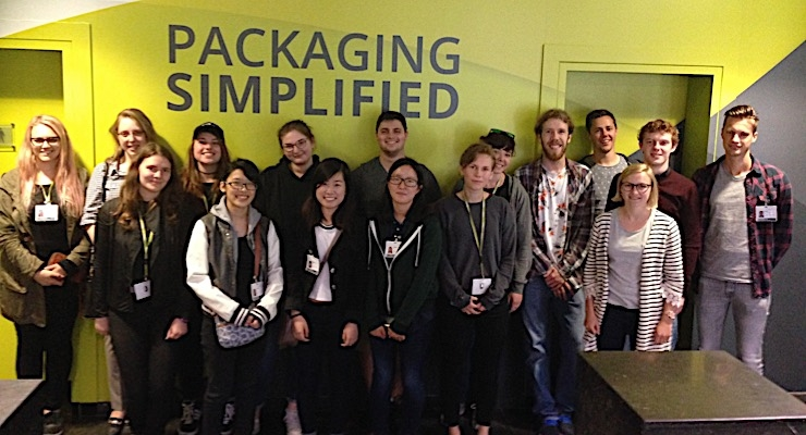 Esko hosts Flexible Packaging Honors Class