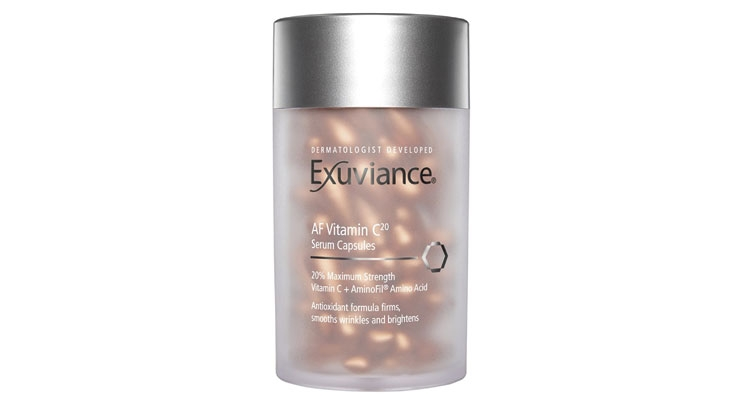 Exuviance Adds Topical  Vitamin C Capsules