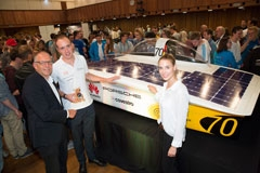 Covestro Provides Materials, Service For Student-Developed Solar-Powered Electric Car