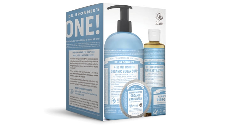 Dr. Bronner's Treats Baby with New Set