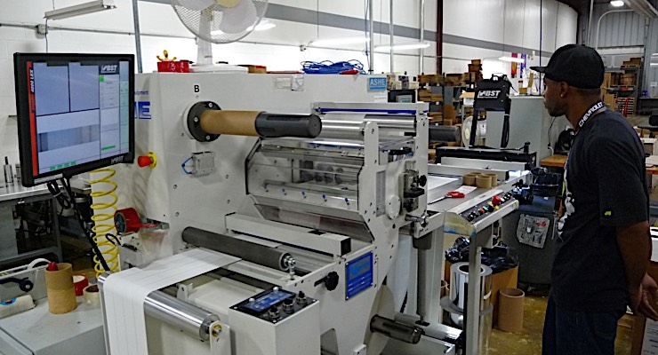 Celebrating 50 years, The Label Printers makes quality a priority