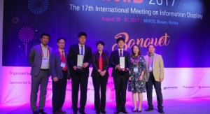Universal Display Presents 2017 UDC Innovative Research and Pioneering Technology Awards