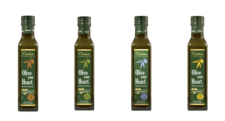 Carlson Introduces Omega-3 Fortified Olive Oil