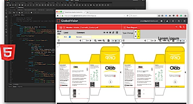 GlobalVision launches redesign of Proofware inspection platform