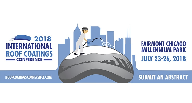 Submit an Abstract for 2018 International Roof Coatings Conference