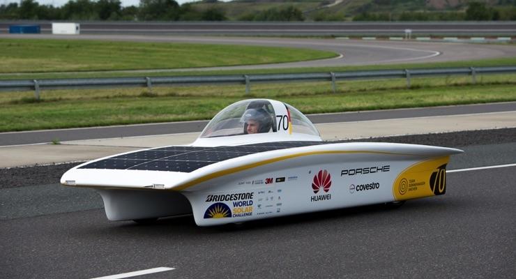 Covestro, PPG Test Automotive Refinish Coating With Bio-based Hardener on Solar Car
