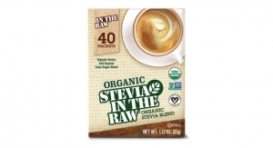 In The Raw Sweeteners Launches Organic Stevia In The Raw