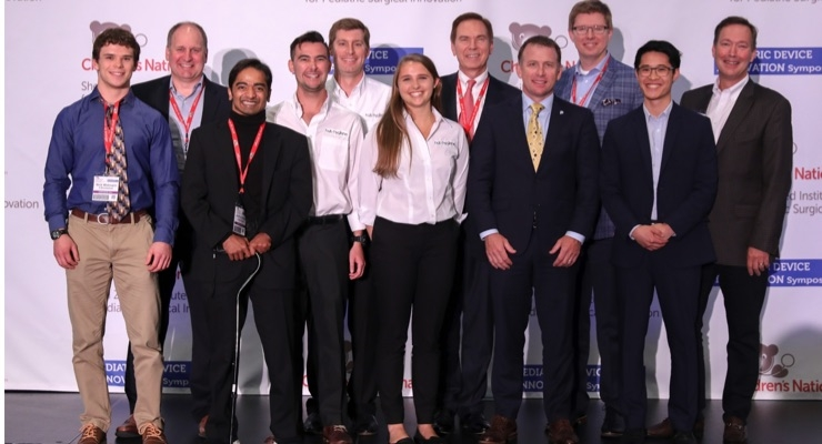 Six Companies Developing Innovative Pediatric Medical Devices Awarded $250,000