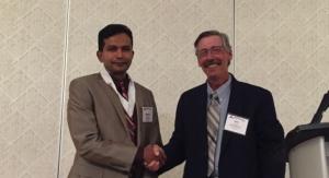 NAPIM Honors Mathew Mathew of Sun Chemical, John Foster of Cabot