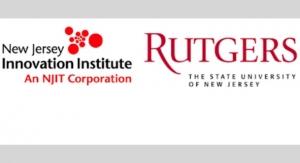 NJ Innovation Institute, Rutgers formContinuous Mfg. Institute