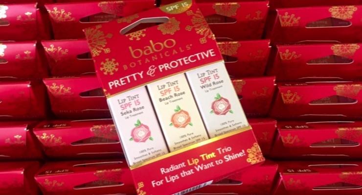 Lip Tint Formula Is Big at Babo Botanicals