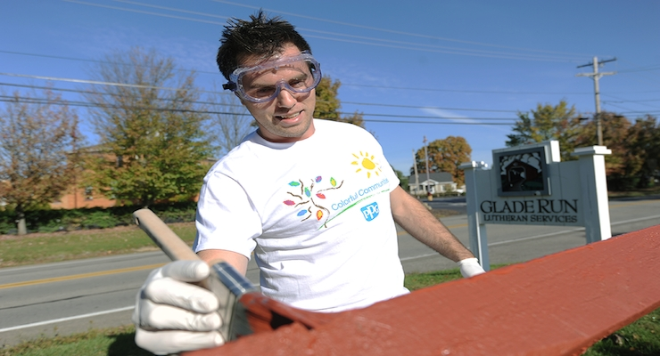 PPG completes 10 Greater Pittsburgh COLORFUL COMMUNITIES Projects for United Way's Day of Caring