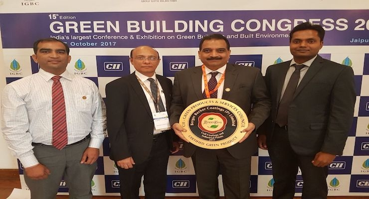 Beckers Becomes First Coil Coatings Company to Receive GreenPro Certificate