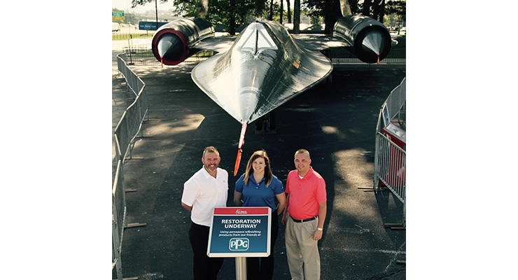 PPG Donates Coatings for U.S. Space & Rocket Center