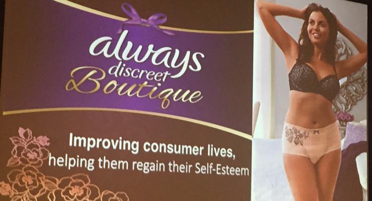 P&G Changes the Game for Bladder Leakage Underwear