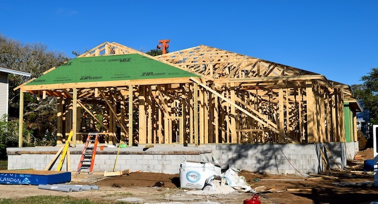 U.S. Construction Starts Had Three Consecutive Quarters of Positive Growth in 2017