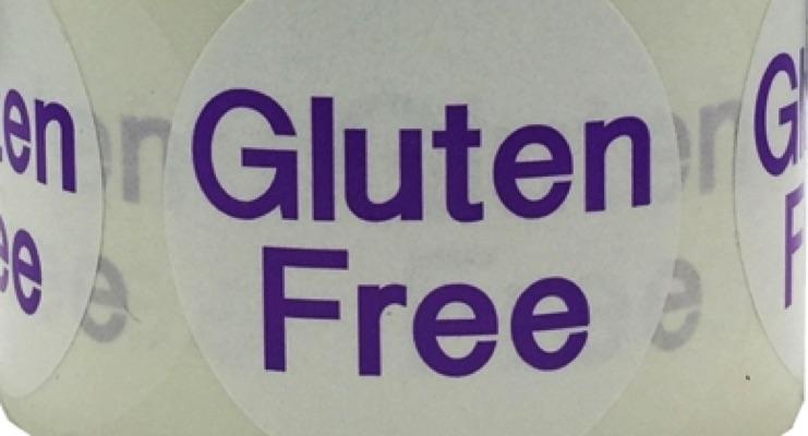 Gluten-free labels