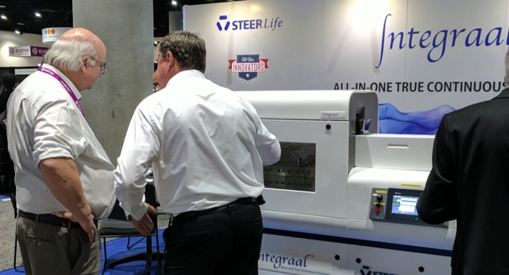 STEERLife Showcases Technologies at AAPS