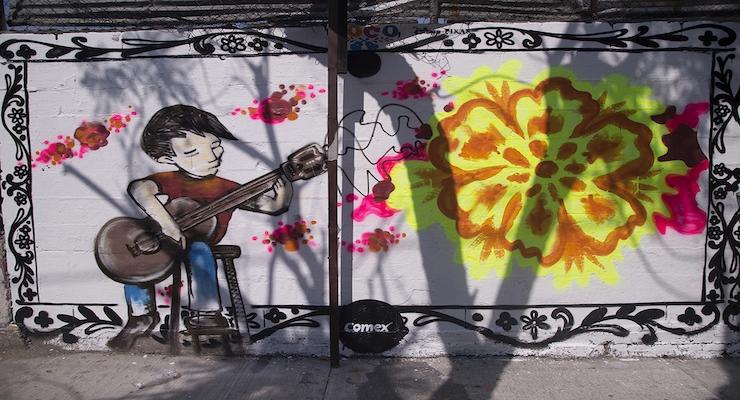 PPG's COMEX Brand Creates 30 Murals to Celebrate Disney Pixar's