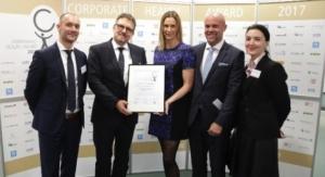 Vetter Receives Corporate Health Award