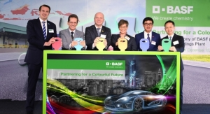 BASF Opens its First Automotive Coatings Production Plant in Thailand