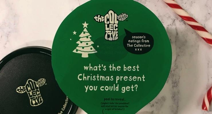 Printed yogurt lids bring dollop of Christmas cheer