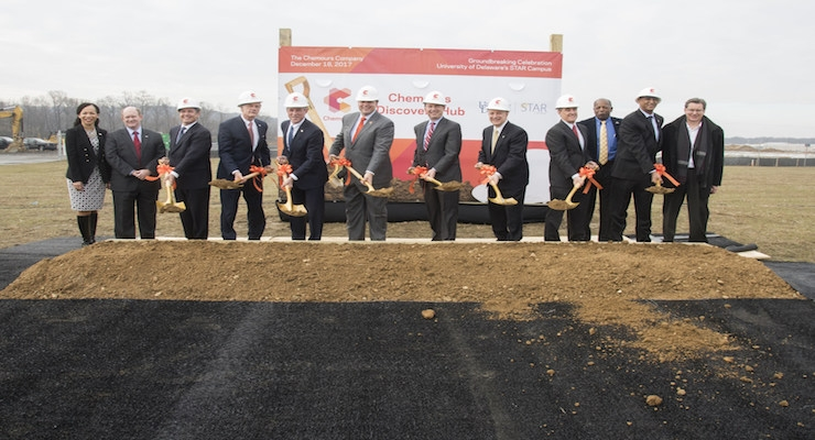 Chemours Breaks Ground on Research Facility at University of Delaware