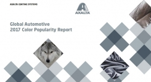 Axalta's 65th Annual Global Automotive 2017 Color Popularity Report Reveals No. 1 Color Choice