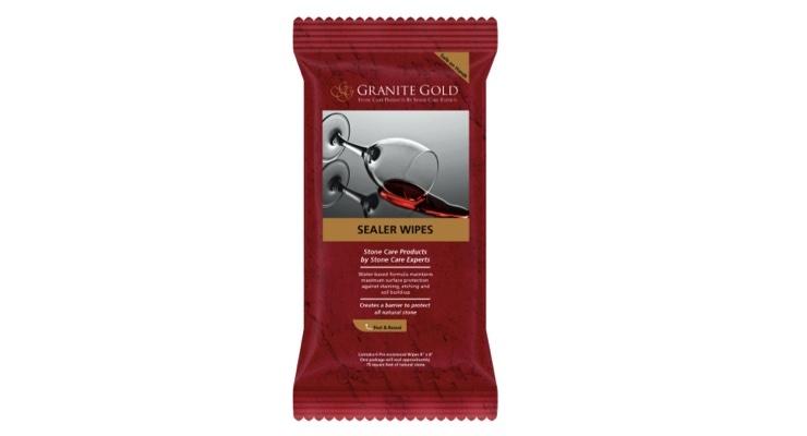 Granite Gold Introduces Sealer Wipes