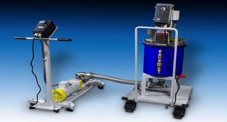 Union Process Introduces PT5 Premixing Tank with Pump Assembly for Circulation Grinding
