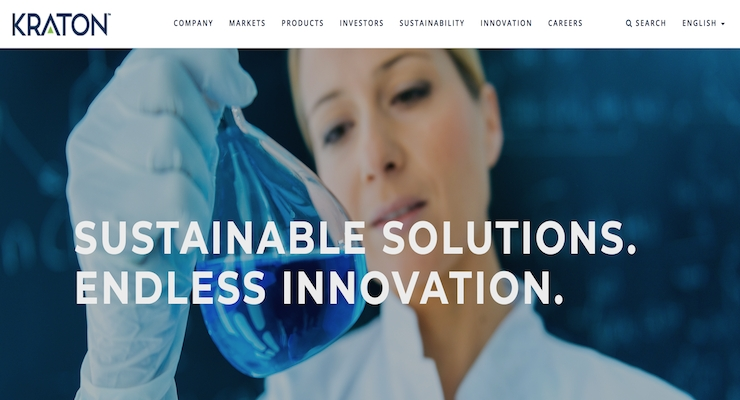Kraton Launches New Website