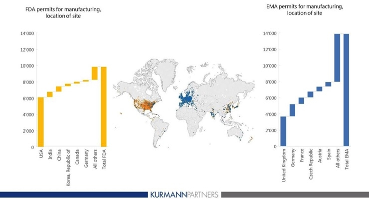 An Interactive Global Map of Pharma Manufacturing Sites