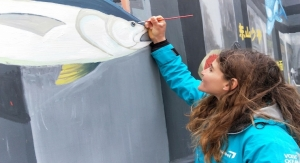 Team AkzoNobel Joins Employees, Add Splash of Color to Chinese Community