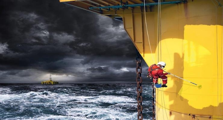Jotun Develops World's First NORSOK Approved Offshore Maintenance Coating System