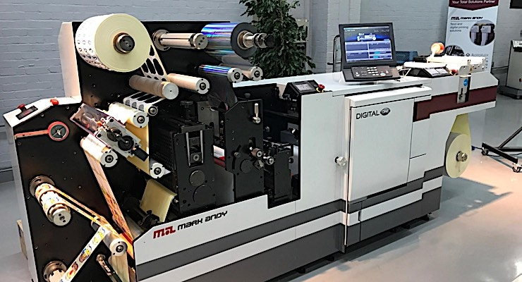 Custom Printed Products adds Mark Andy Digital One