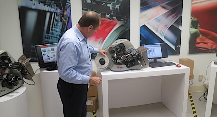 Avery Dennison showcases smart labeling facility