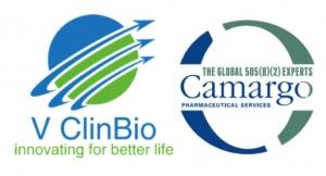 V ClinBio, Camargo Sign Service Agreement