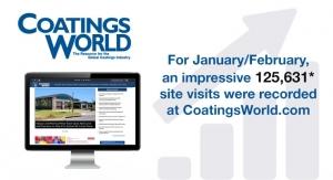 Coatings World Magazine Reveals Record-Breaking Website Traffic