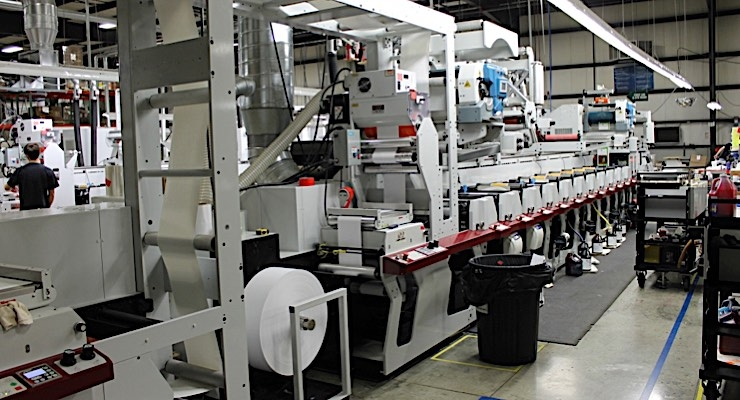 Great Lakes Label showcases printing techniques