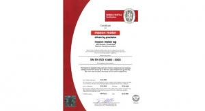 Maxon Medical Receives ISO 13485 Certification