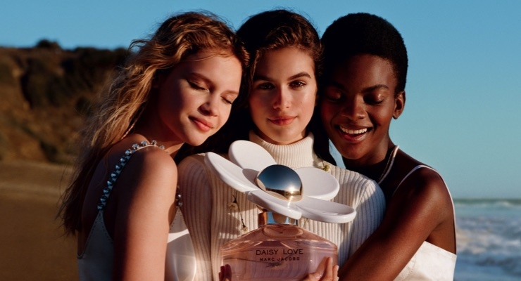 Kaia Gerber Fronts for Marc Jacobs Fragrance