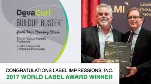 Label Impressions wins World Label Award