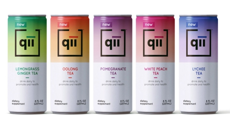 Expanded Qii Oral Care Drink Delivers 52% Plaque Reduction