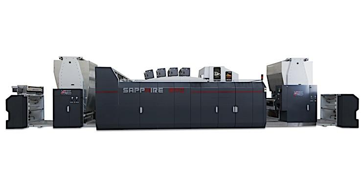 Uteco Group and Kodak announce availability of Sapphire EVO digital press