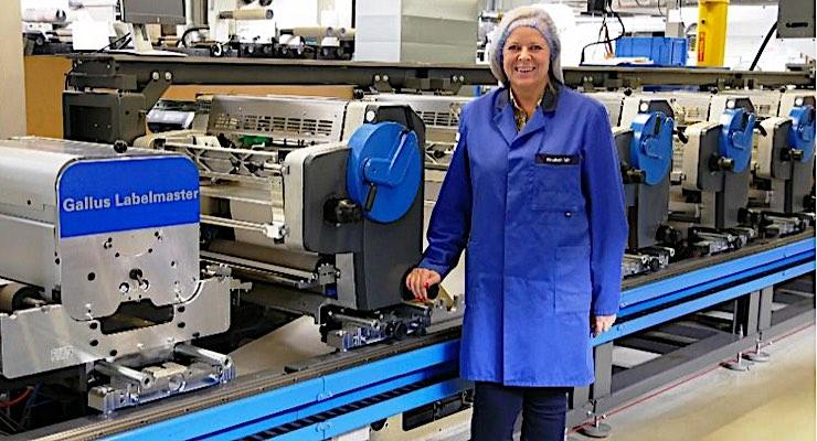 Gallus Labelmaster helps Swiss label converter