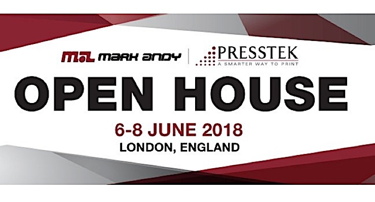 Mark Andy announces UK Open House