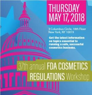 ICMAD Presents 37th Annual FDA Cosmetics Workshop
