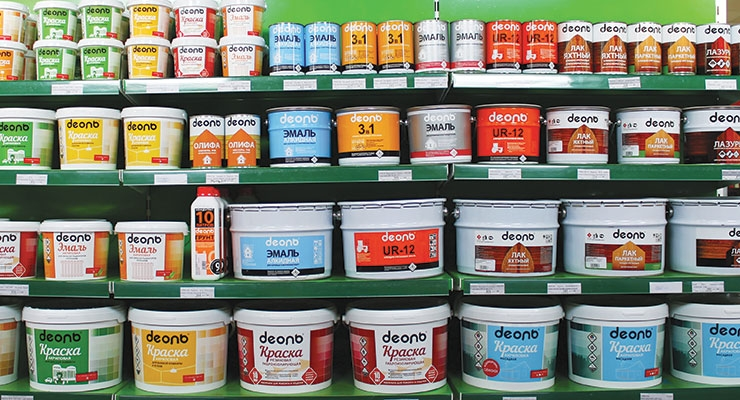 Russian Coatings Producers Feel Brunt of  Weak Demand at the Domestic Market